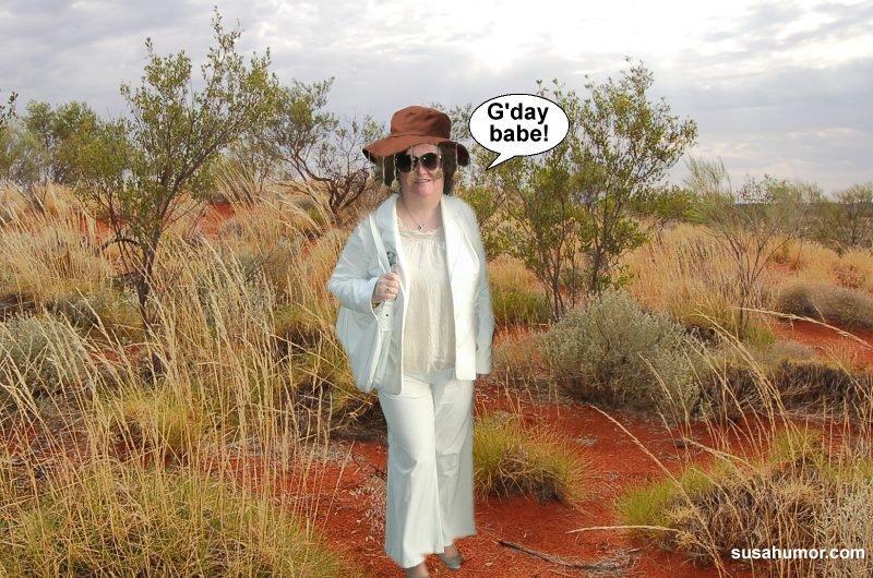 Susan in Australia?! Subooz10