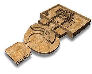 Sujet unique: Les pyramides dans le monde Caral-10
