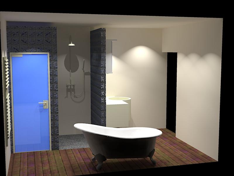 """cabine de douche ou douche à carreler façon """"italienne"""" ??? - Page 3 0216"""