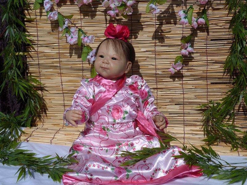 Shao und die kleine LiuSan Tracht11