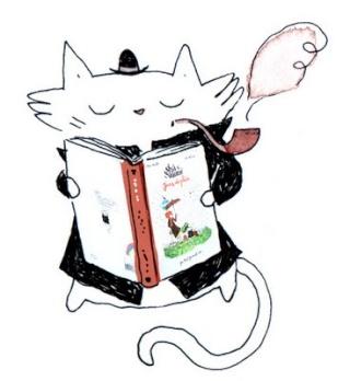 Quand les chats s'invitent dans les livres ... Shaloi10