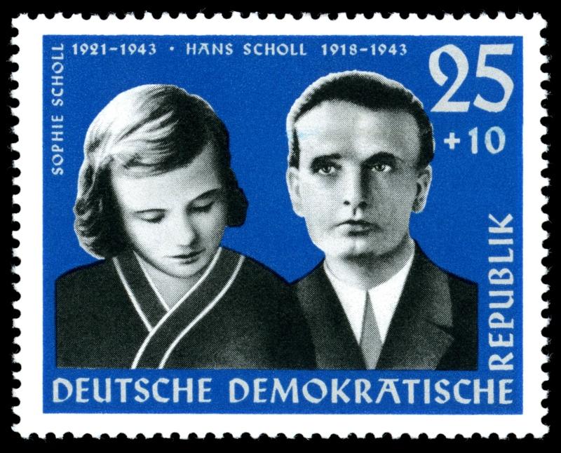 Deutsche Reichspost 1943 Scholl10
