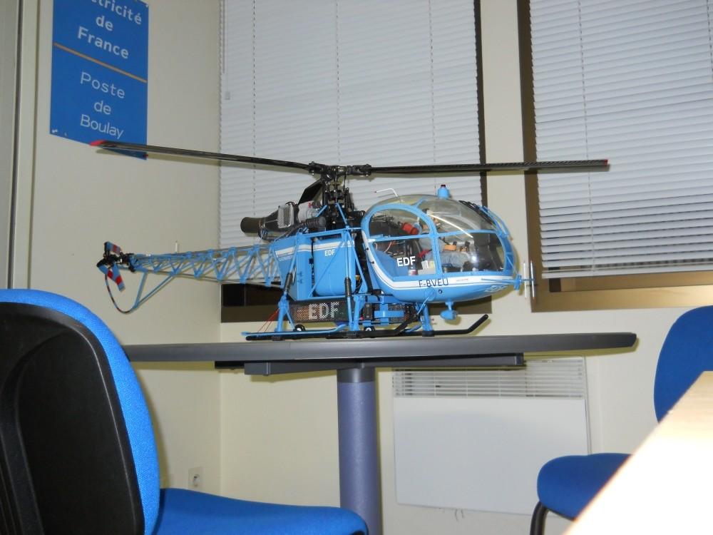 Alouette II EDF - Lama Hirobo - Page 33 Dscn1510