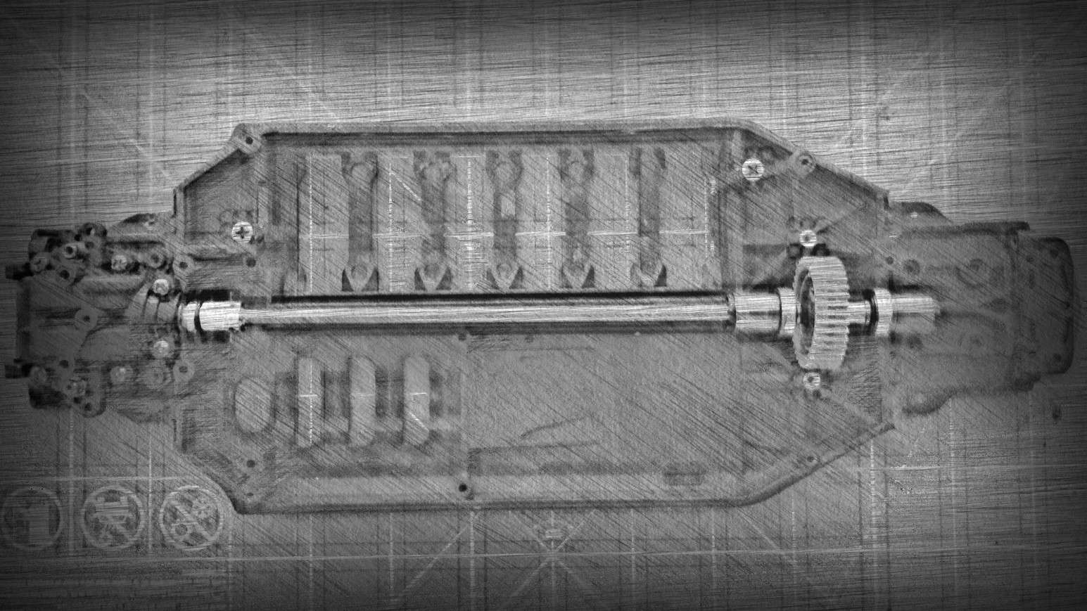 Project: RWD/FM TB-03 Conversion Img_3010