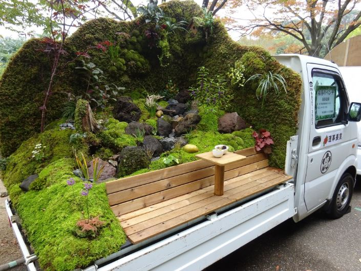 Jardins sur camionnettes Camion12