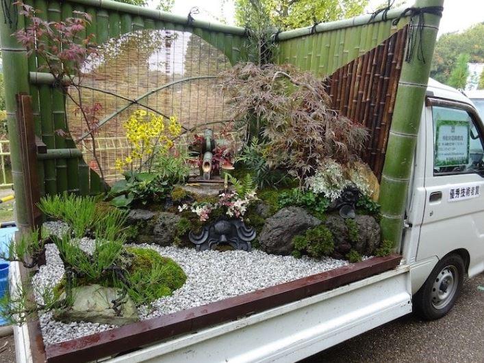 Jardins sur camionnettes Camion13
