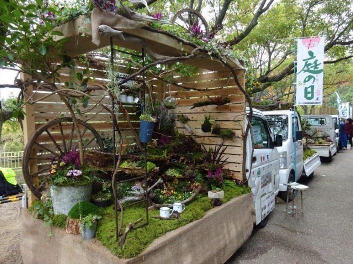 Jardins sur camionnettes Camion16