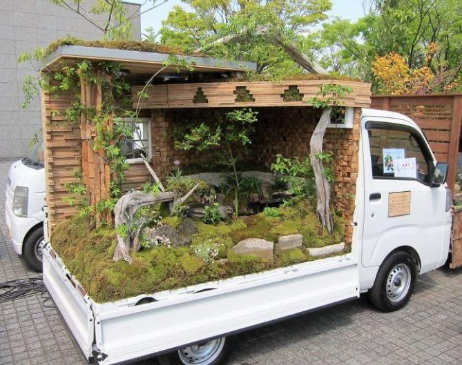 Jardins sur camionnettes Camion17