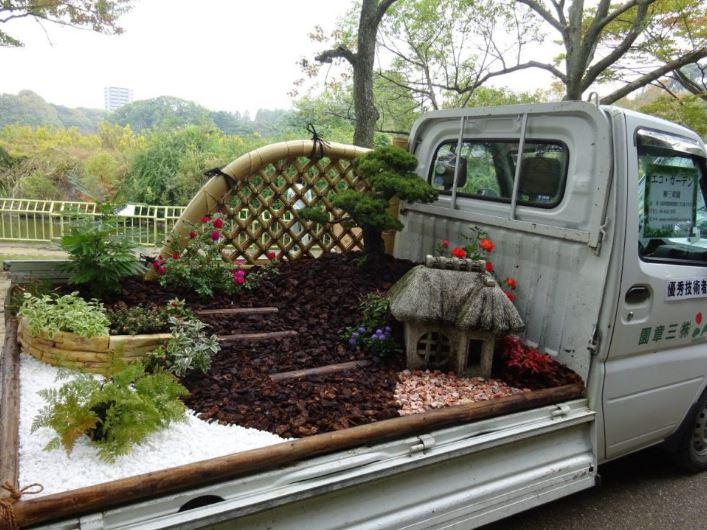 Jardins sur camionnettes Camion21