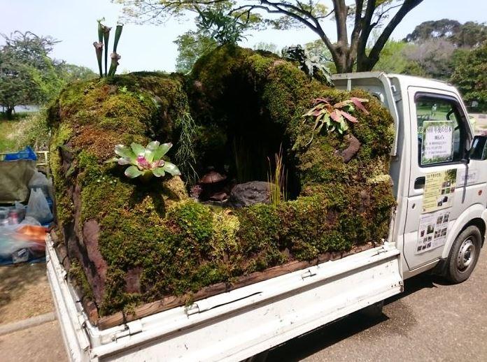 Jardins sur camionnettes Camion23