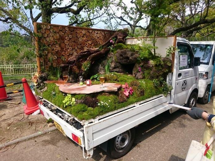 Jardins sur camionnettes Camion24