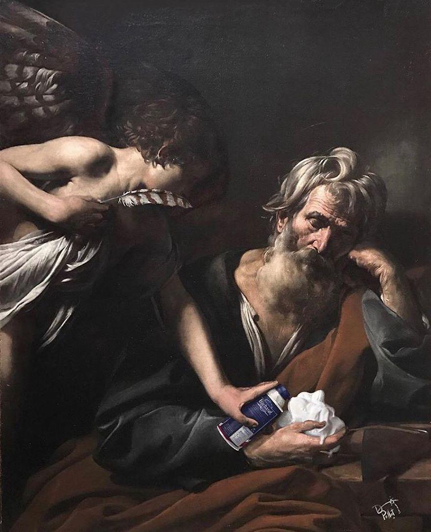 Dave Pollot : peinture celebre et pop culture Pop-cu17