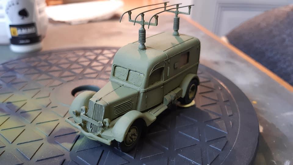 Renault ADH Radio (Wespe Models) 1/72 12018910
