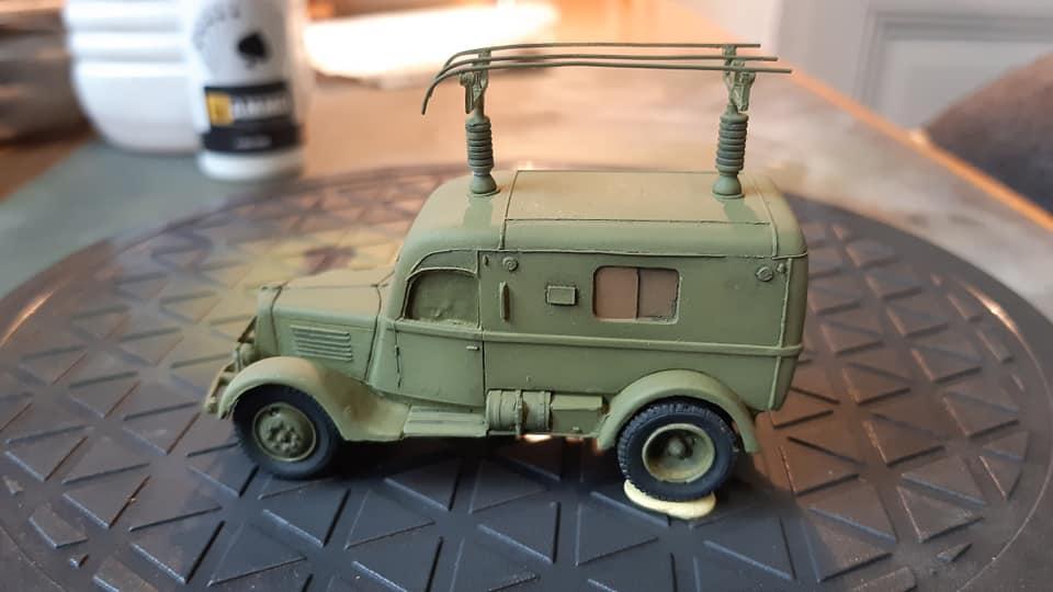 Renault ADH Radio (Wespe Models) 1/72 12030010