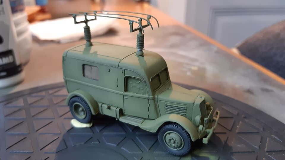 Renault ADH Radio (Wespe Models) 1/72 12031410