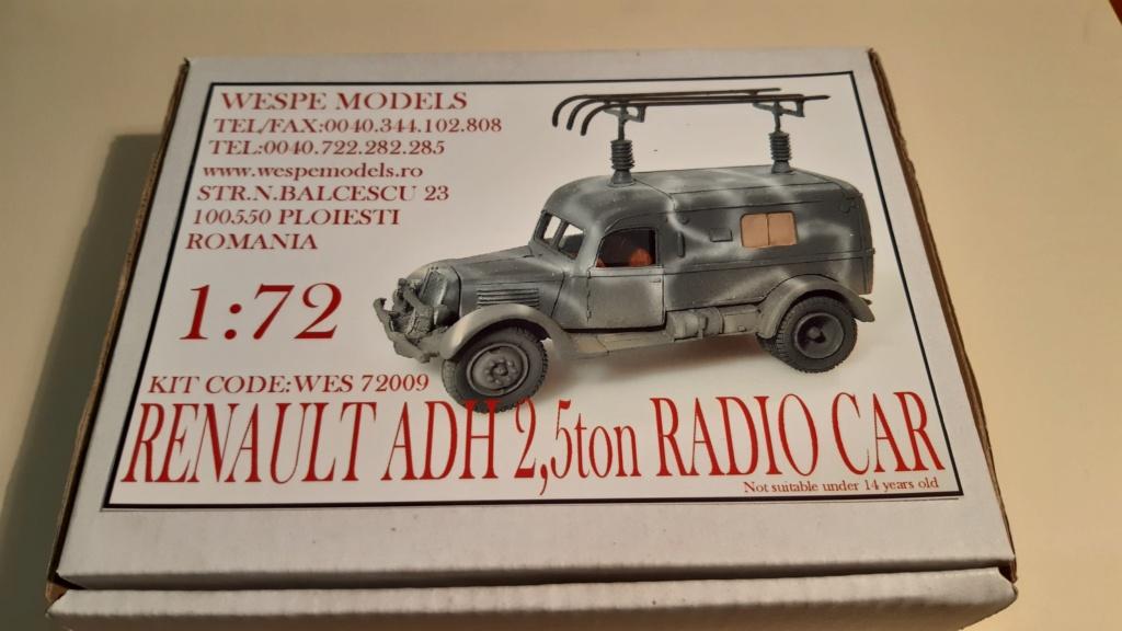 Renault ADH Radio (Wespe Models) 1/72 20200812