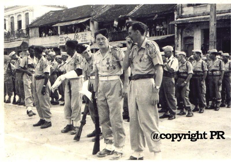 6 éme RIC et défilé de Nam Dinh le 14/07/51 1210