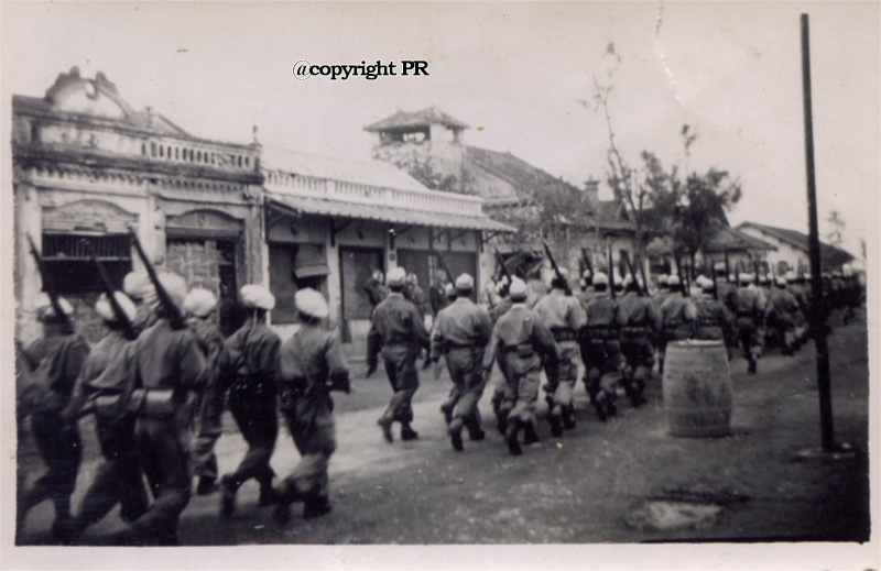 6 éme RIC et défilé de Nam Dinh le 14/07/51 511