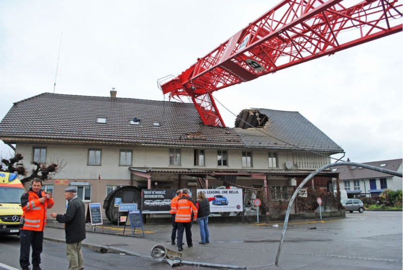 Divers accidents de chantier Bern-s10