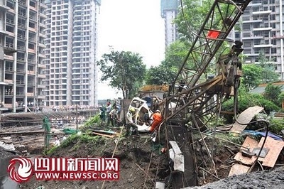 Divers accidents de chantier Chine_10