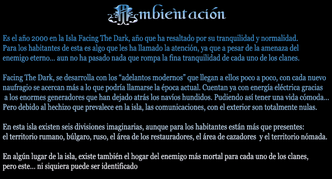 Foro gratis : Facing The Dark - Portal Ambien11