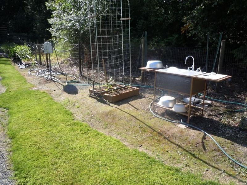 Garden sink that hooks up to your garden hose Dscn0511