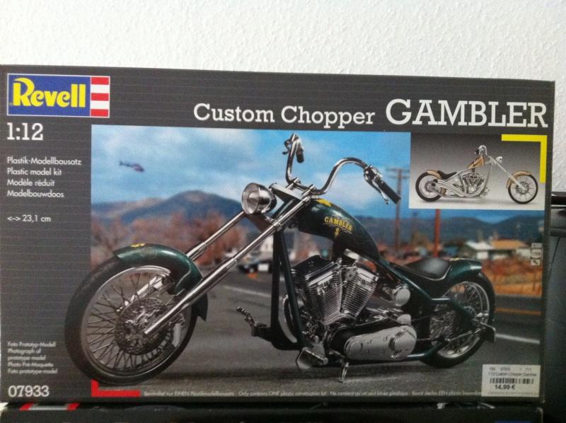 Revell Custom Chopper Gambler Img_0111