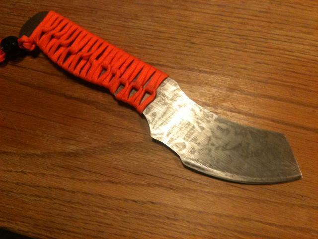 Couteau maison et prise en main Shlass10