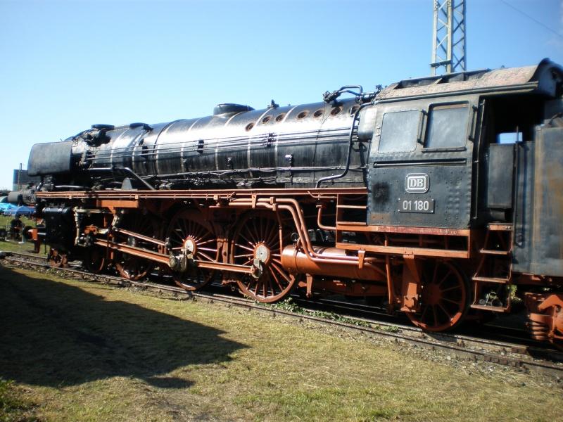 BR 01 der DB mit Hochleistungskessel Aa1010