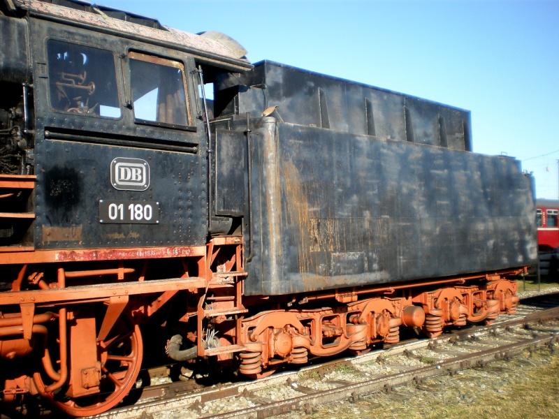 BR 01 der DB mit Hochleistungskessel Aa1110