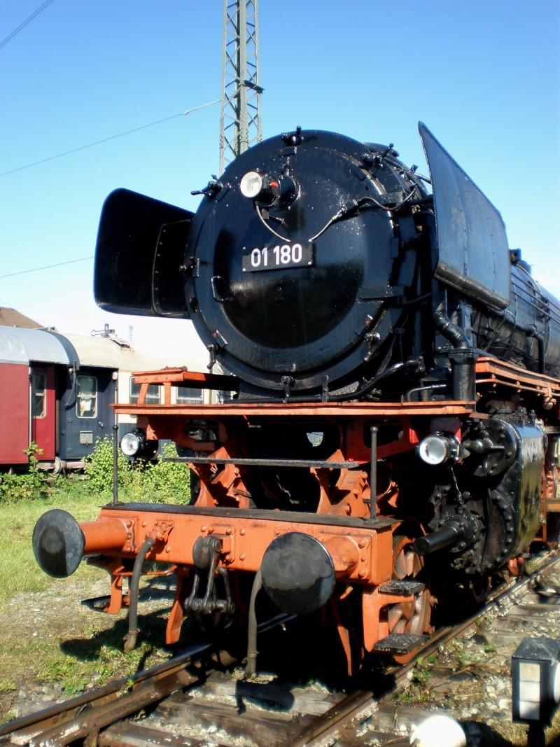 BR 01 der DB mit Hochleistungskessel Aa1410