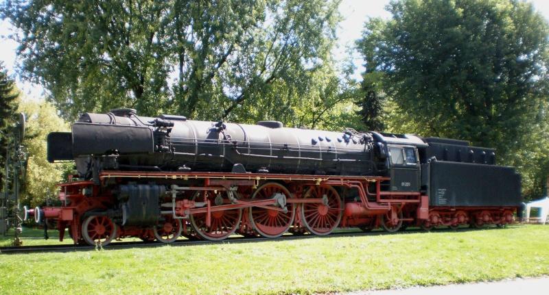 BR 01 der DB mit Hochleistungskessel Aa1611