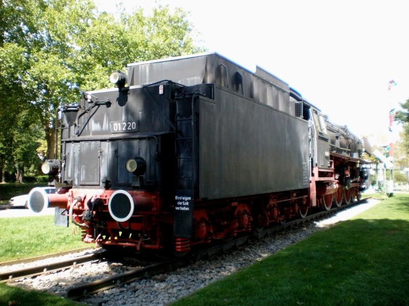 BR 01 der DB mit Hochleistungskessel Aa2410