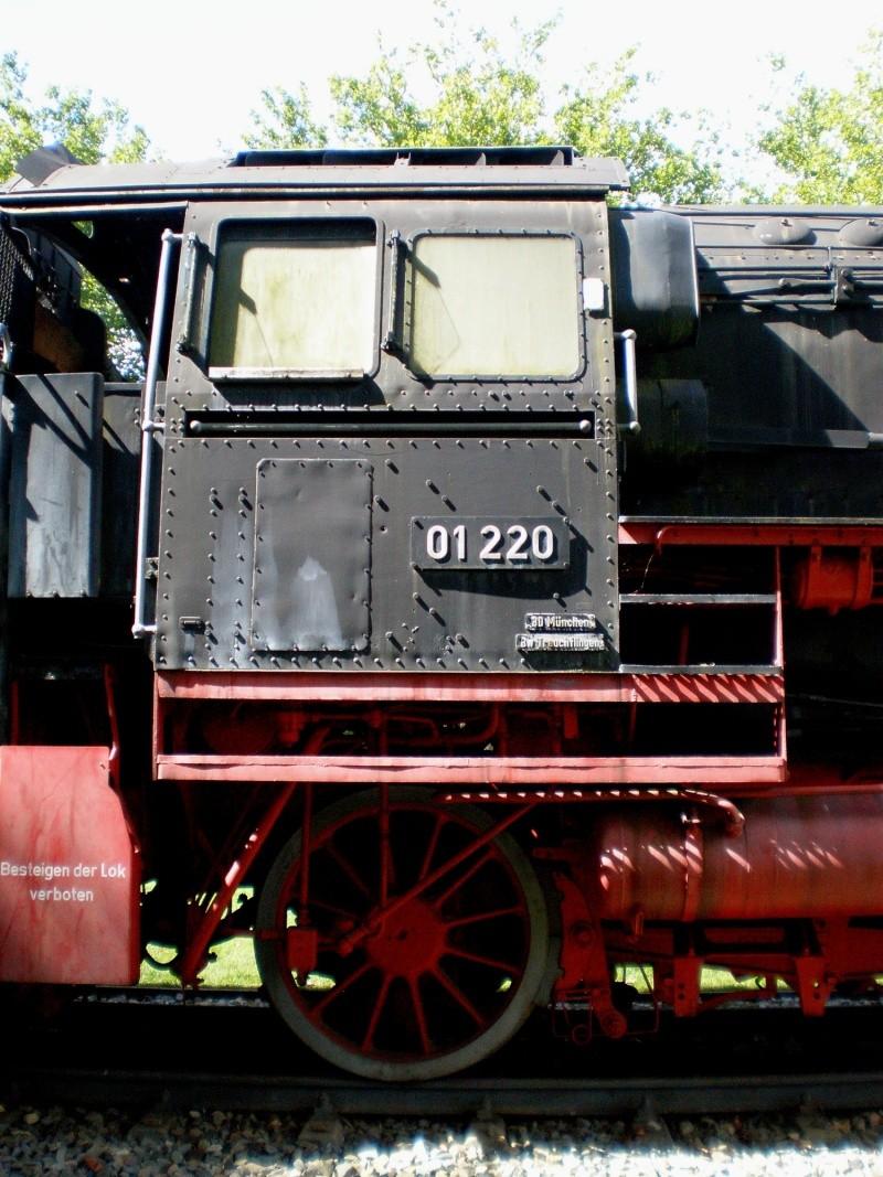 BR 01 der DB mit Hochleistungskessel Aa2610