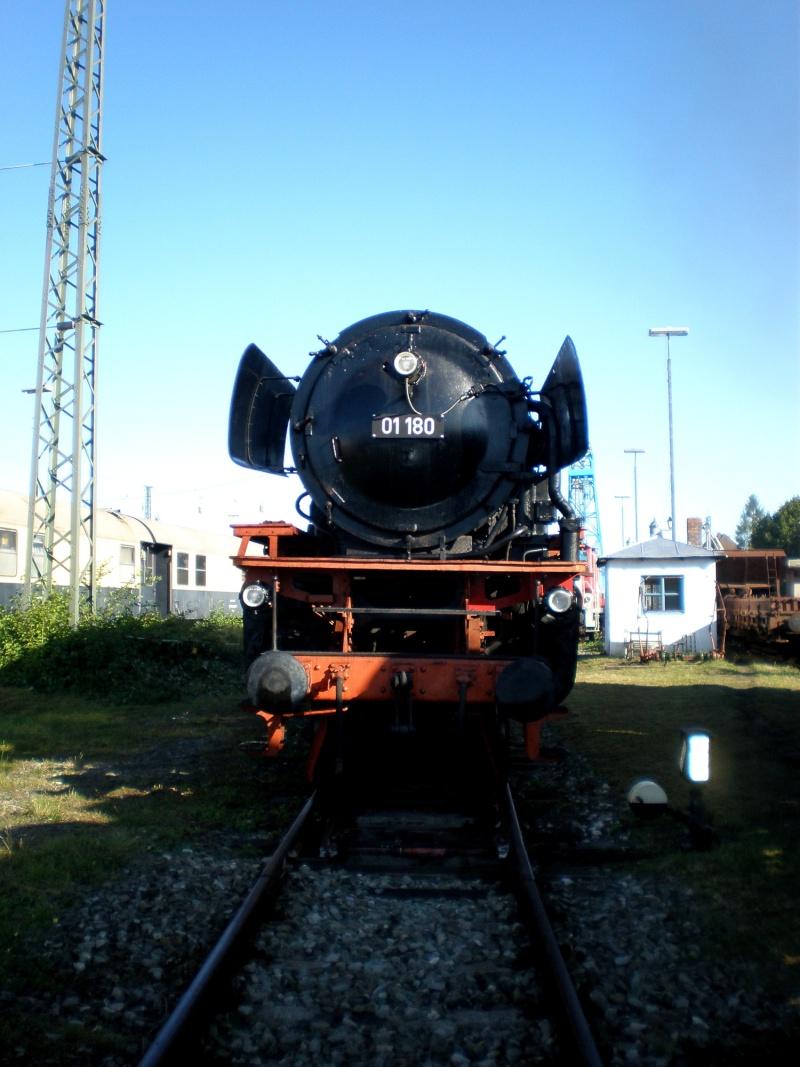 BR 01 der DB mit Hochleistungskessel Aa610