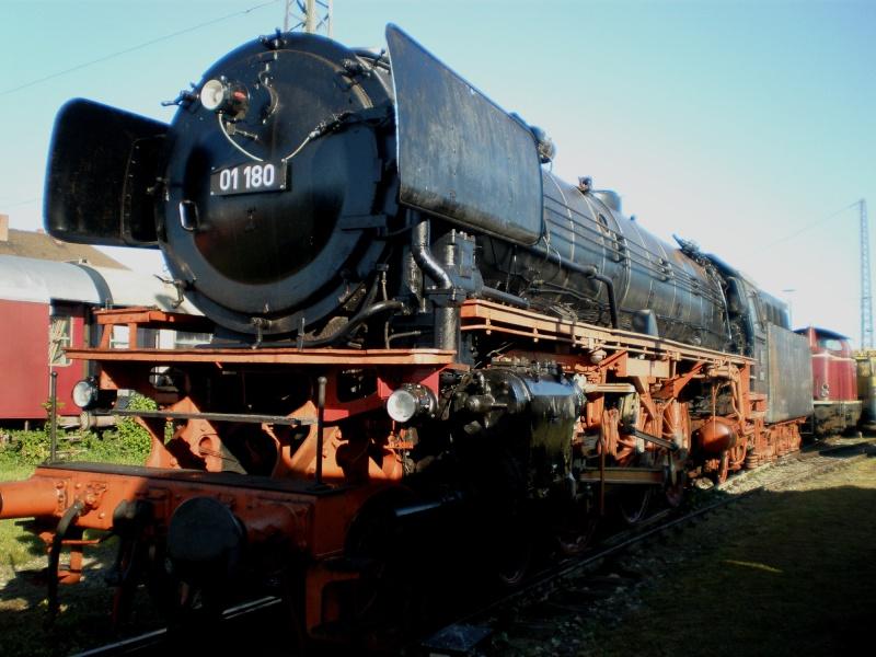 BR 01 der DB mit Hochleistungskessel Aa710