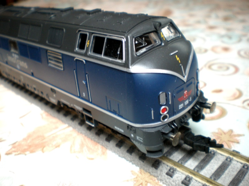 Baureihe 221 / V200.1 der DB Diesel14