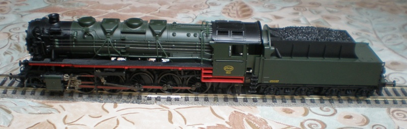 BR 44 in grün mit Tender von BR 50 P3011512