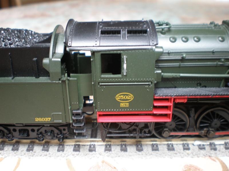 BR 44 in grün mit Tender von BR 50 P3011516