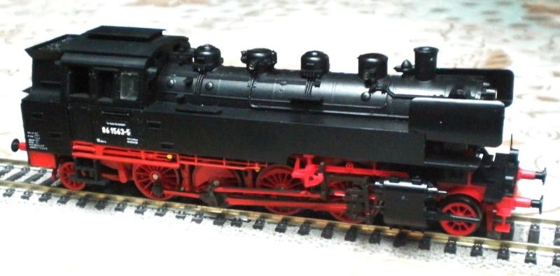 Dampflok BR 86 mit Witte-Windleitblechen Pb290710