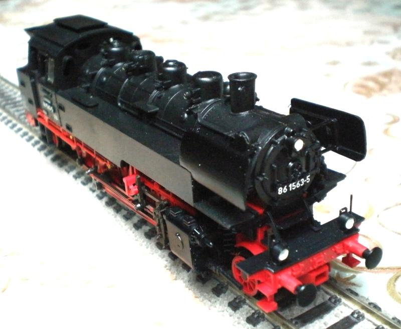 Dampflok BR 86 mit Witte-Windleitblechen Pb290712