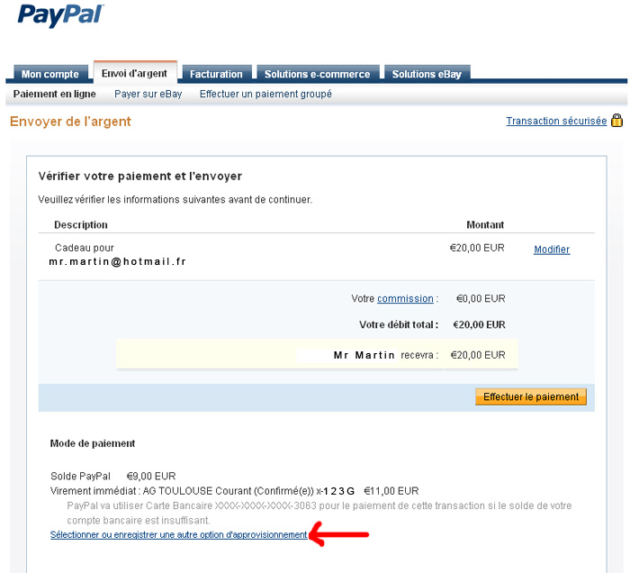 [TUTO] Paypal entre proches Paypal10