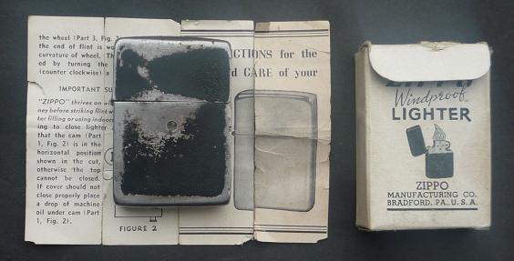 Black - vente  de  zippo   de collection  1934/1945 20369512