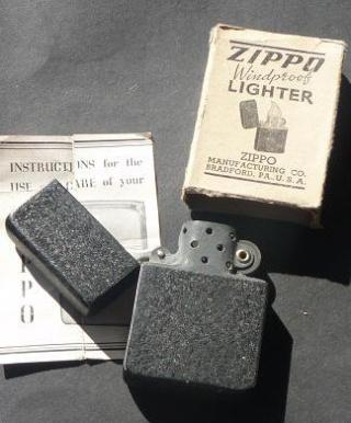 Black - vente  de  zippo   de collection  1934/1945 Double17