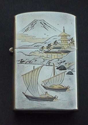 japon - A  VENDRE  ZIPPOS  STERLING ( ARGENT) JAPON Zippo_66