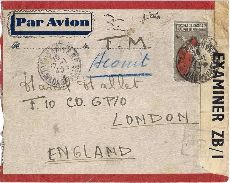 """Lettre adressée à une Boîte Postale ( adresse de liaison ) """"Undercover Addresses""""!! 002_0010"""
