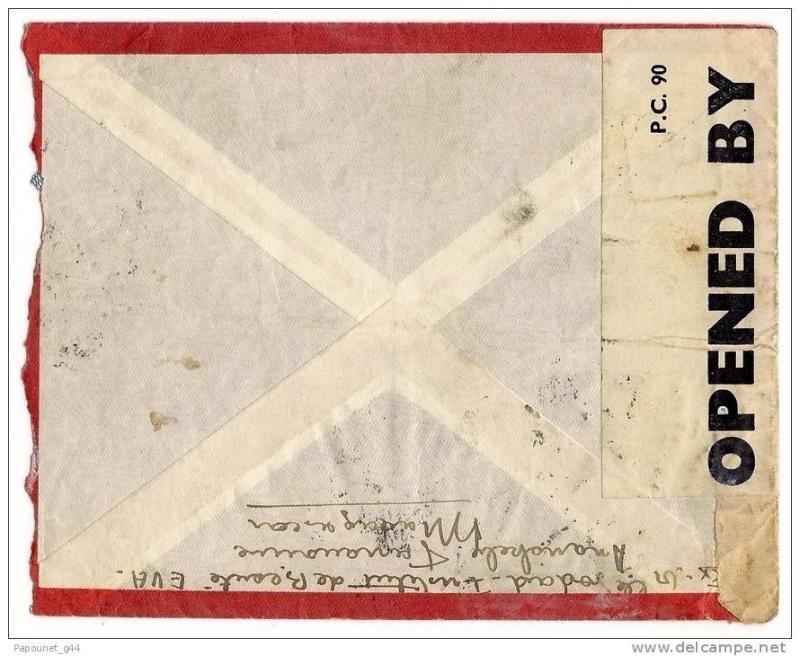 """Lettre adressée à une Boîte Postale ( adresse de liaison ) """"Undercover Addresses""""!! 002_0011"""
