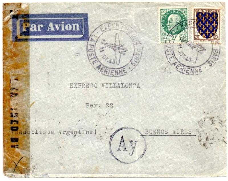 Qui connaît le Tarif postal de France vers le Mozambique en 1943 ?  1943_a15