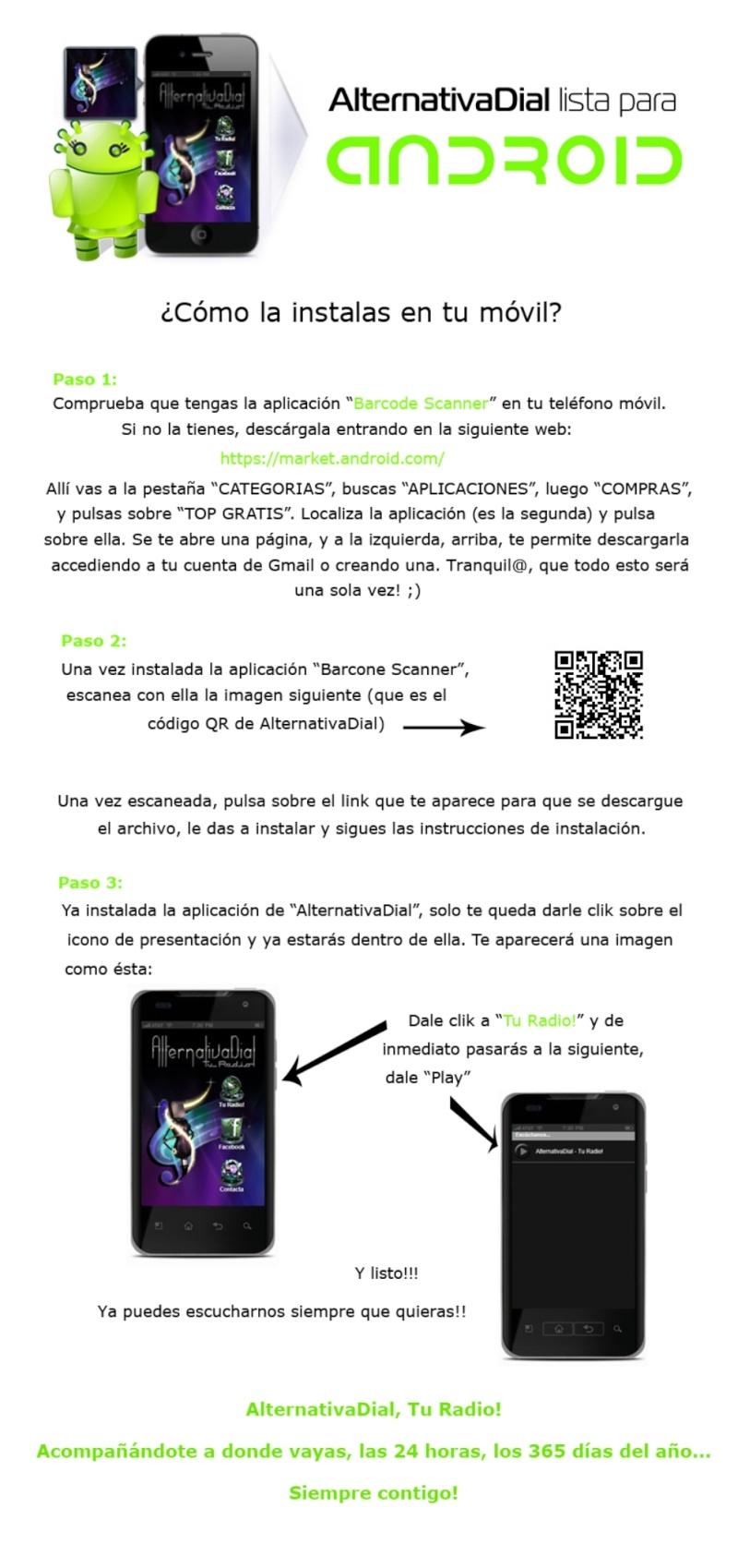 Ya tienes alternativa en tu móvil!!! Aviso_11