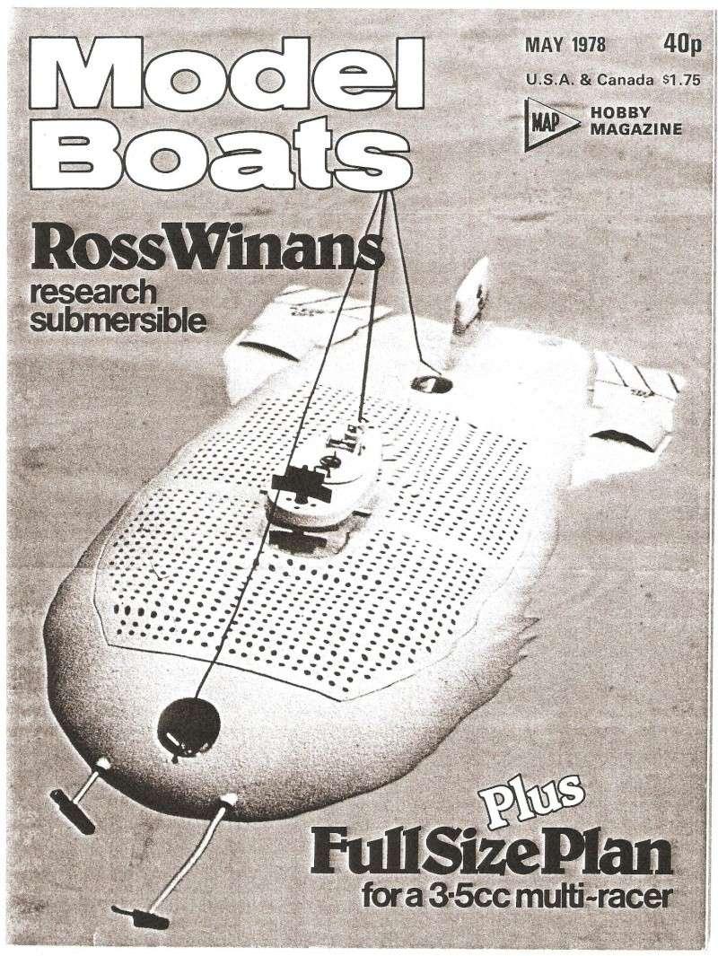 """DSRV """"Ross Winans"""" Rw110"""